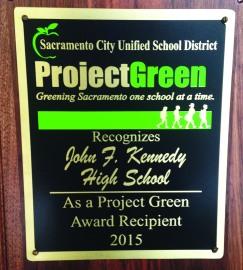 ProjectGreen Award