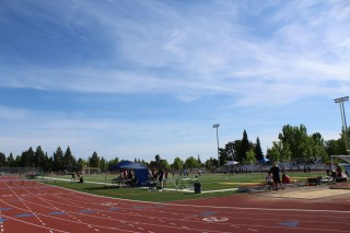 A track meet at Kennedy. (Photo by Camilla Huey)