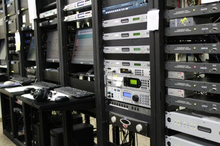 Some of the tech used at CPR to broadcast information, news updates and music (contemporary program covers upcoming or underground, local musicians.)