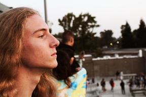 Johnathon Hicke-Fox (12). (Photo by Bruce Tran)