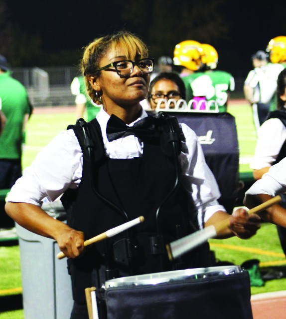 JFK Band member Sariyah Williams (12) Photo by Makayla Smith