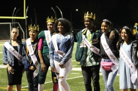 Homecoming royalty group photo by Makayla Smith