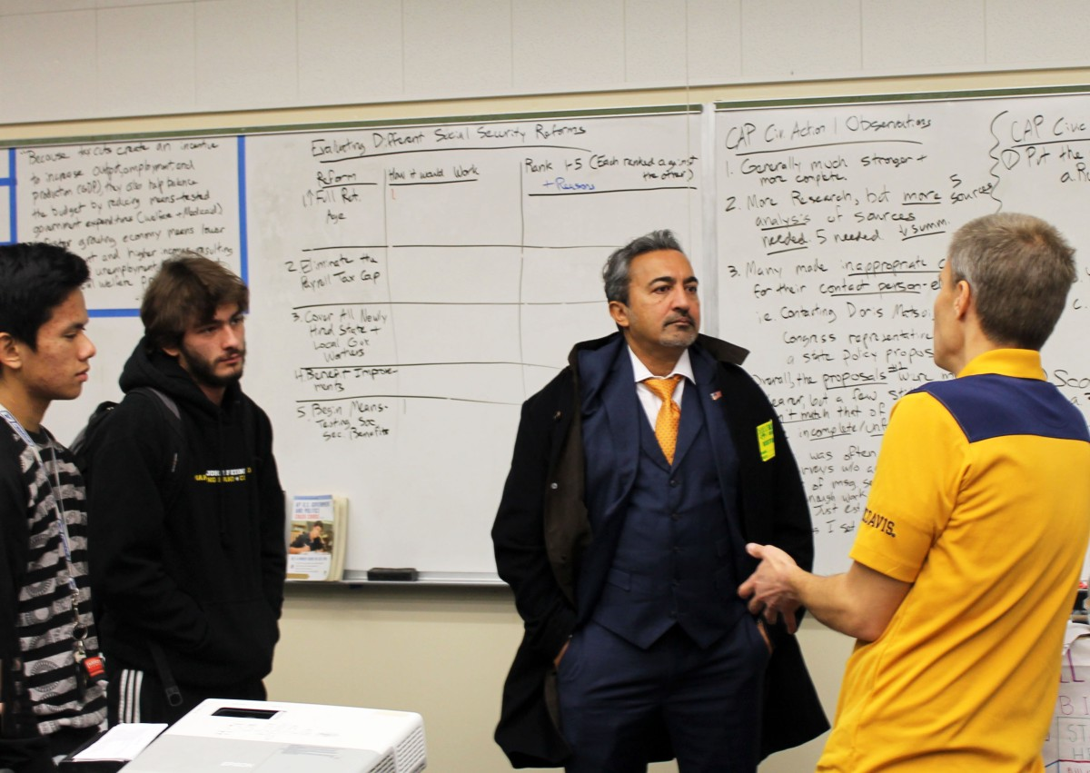 Representative Ami Bera Visits Kennedy Government Students