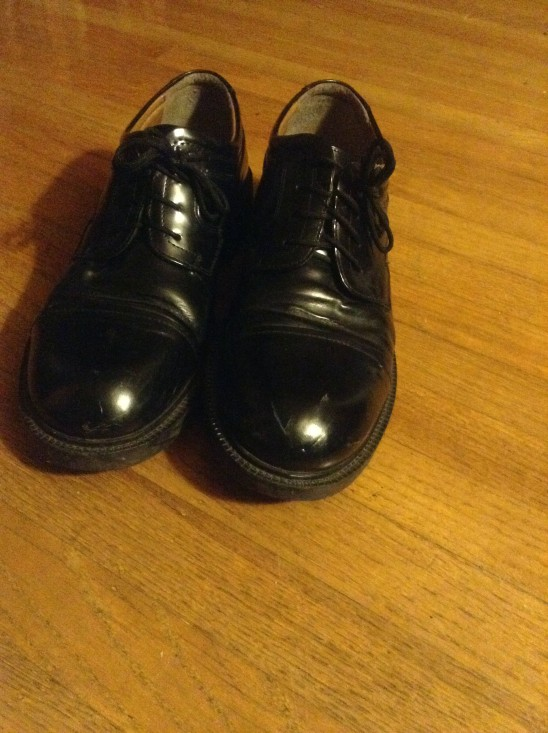 "18-YOUR SHOES by Dominic Larsen ""My dress shoes for dressing up on Sunday"""