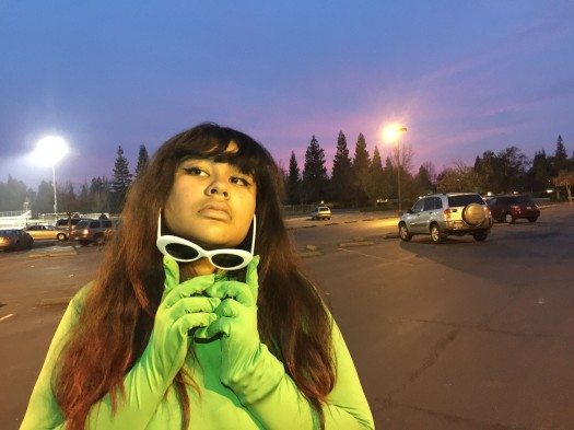 """2-WHAT YOU WORE by Jianna Beasley. """"Just my favorite outfit, morph suit, sweat pants, and clout."""""""
