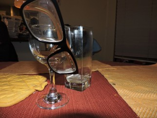 "21-GLASSES by Christopher Wong ""Despite our abilities to keep trivial things clean, we often fail to polish the lens through which we see the world."" I said that."