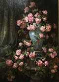 """28-FLOWERS by Jianna Beasley """"This is a super-cute flower painting on display at Crocker Art Museum."""""""