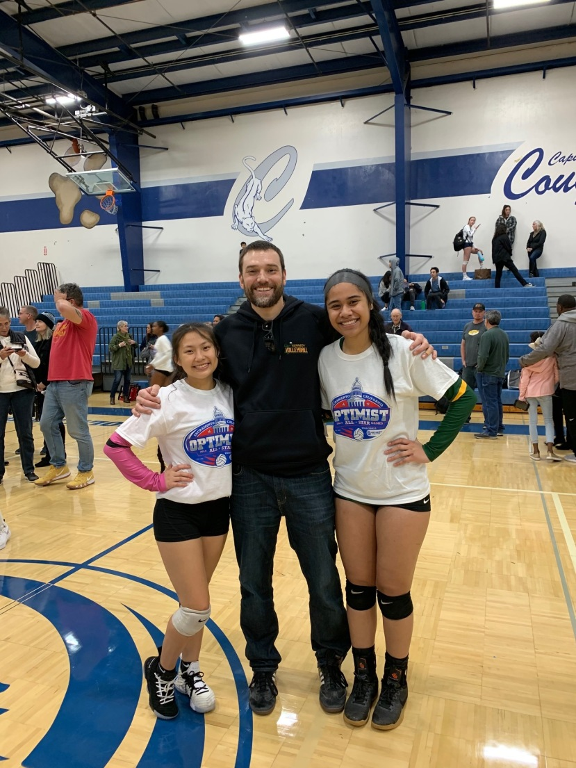 Volleyball All-Stars at Optimist Competition